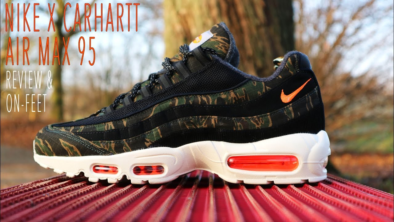 pretty nice c0b40 0b392 Nike X Carhartt WIP Air Max 95 Review & On-Feet KixFix