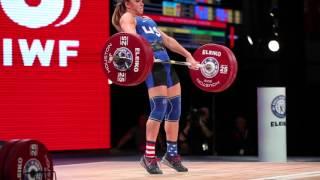 Mattie Rogers At The 2015 IWF World Championships