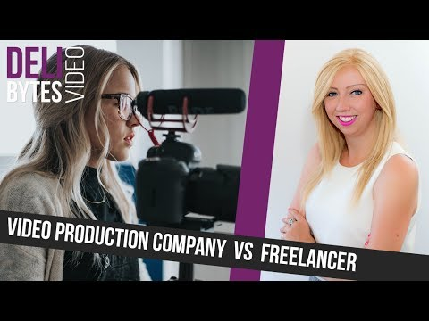 Video Production Company vs Freelancer | DeliBytes #55