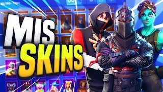 THESE ARE ALL MY FORTNITE SKINS!