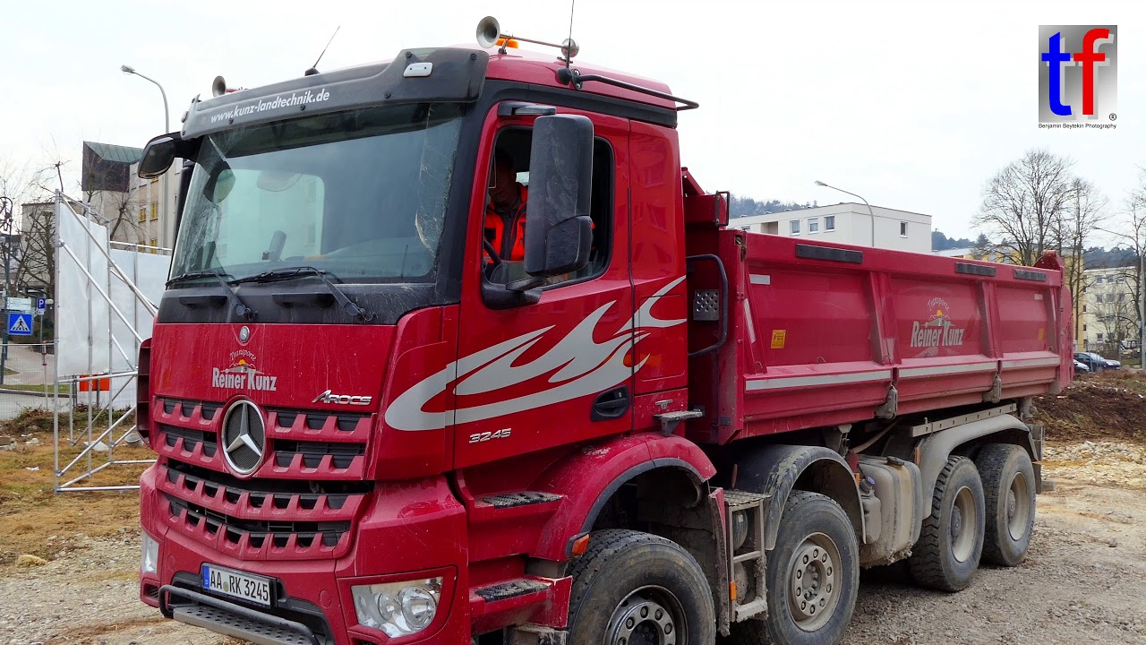 Mercedes-Benz AROCS 4a Dump Truck / Kipper, Germany, 2018 ...