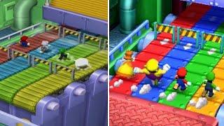 Minigame Comparison - Mario Party 7 (GC) Vs. Mario Party: The Top 100