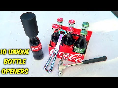 10 Weird Bottle Openers put to the Test