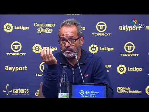 Rueda de prensa de Álvaro Cervera tras el Cádiz CF vs CF Reus (1-0)