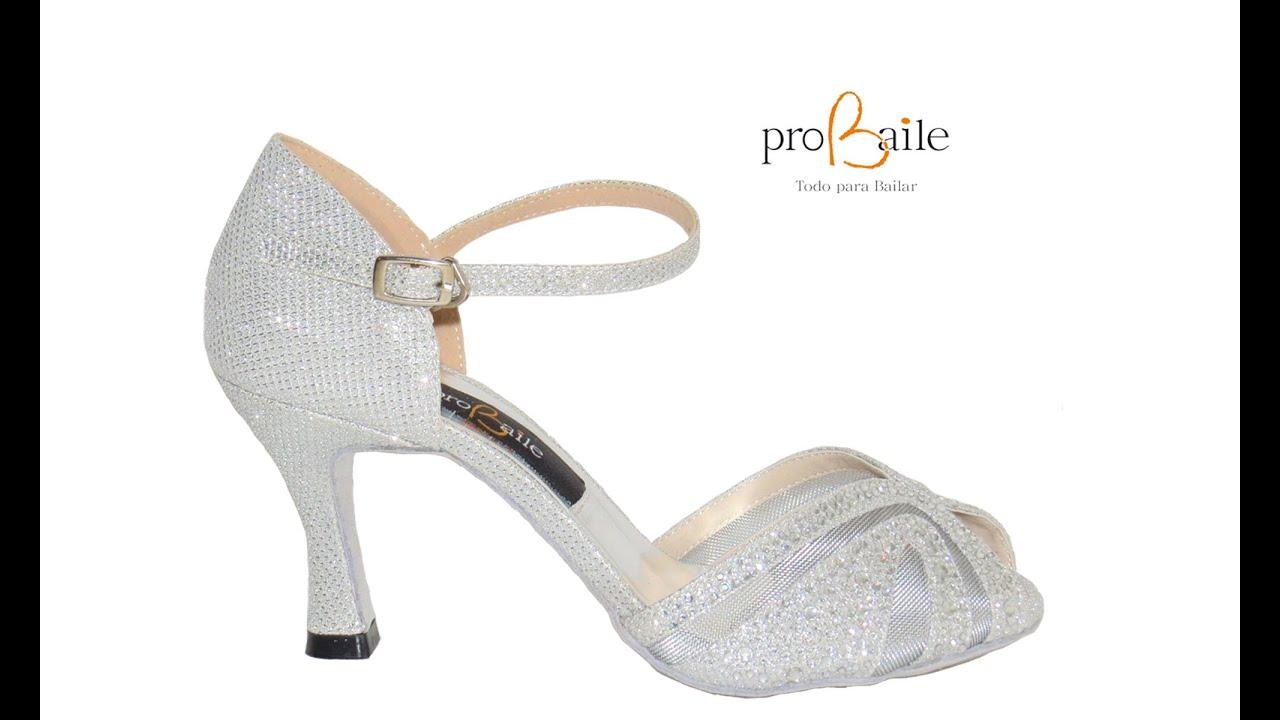 1d282f8f Zapatos para bailar salsa y para bodas - www.probaile.com - YouTube