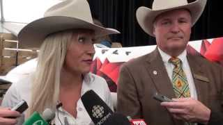 2015 Calgary Stampede Parade Marshal