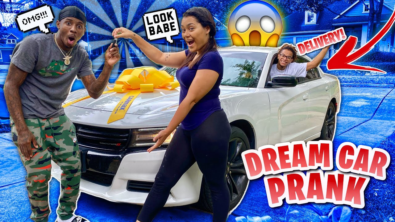SURPRISING HIM WITH HIS DREAM CAR!! (PRICELESS REACTION)