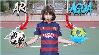 Desafio: Bola de ar VS  bola de água