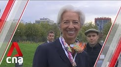 Christine Lagarde begins first day as European Central Bank president
