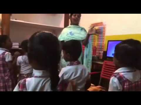 Children who live in the slums in Bangalore sponsored to go to school!