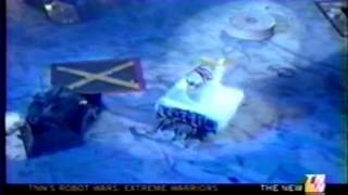 Revolutionist Vs Psycho Chicken (Robot Wars US Heat D)