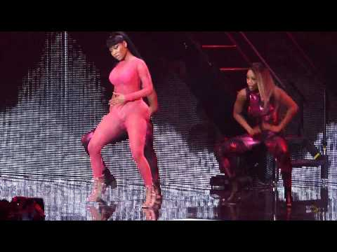 Nicki Minaj Trini Dem Girls  The Pinkprint Tour O2 Arena London