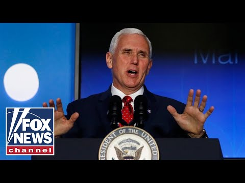 Pence delivers remarks