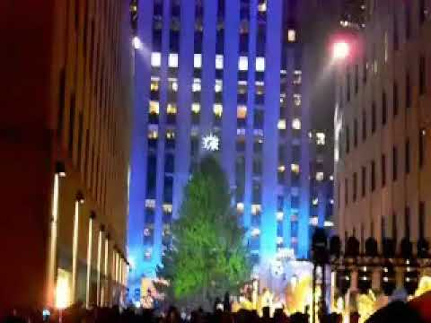 At the Rockefeller Center Tree Lighting 2013!!! - At The Rockefeller Center Tree Lighting 2013!!! - YouTube