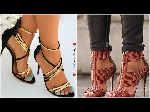 Tendencia en zapatos 2016-2017 Sandalias de Moda para mujer