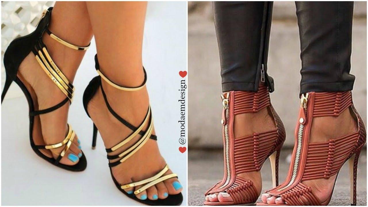b271e9123b93c Tendencia en zapatos 2016-2017 Sandalias de Moda para mujer - YouTube