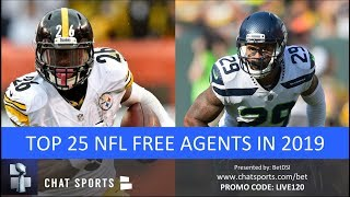 Top 25 NFL Free Agents In 2019