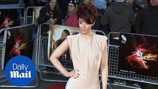 Hatty Keane wears revealing nude jumpsuit to film premiere - Daily Mail