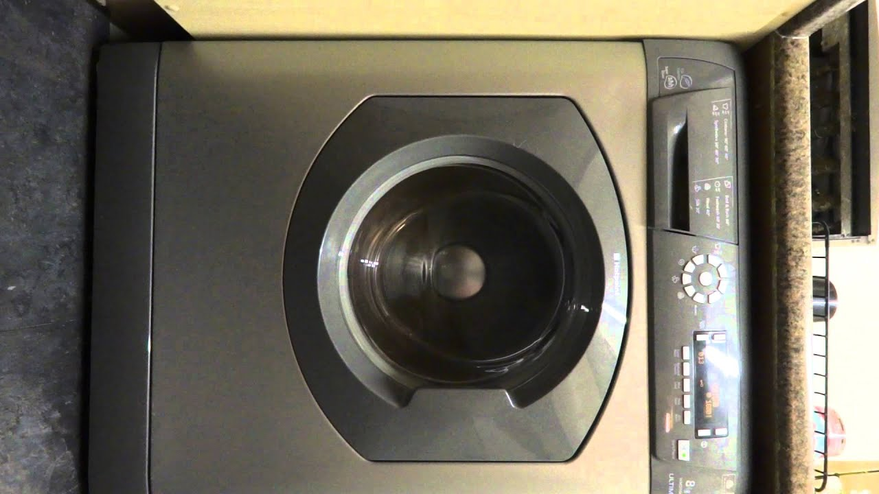 Hotpoint Wmd960 Washing Machine Spin Cycle Youtube