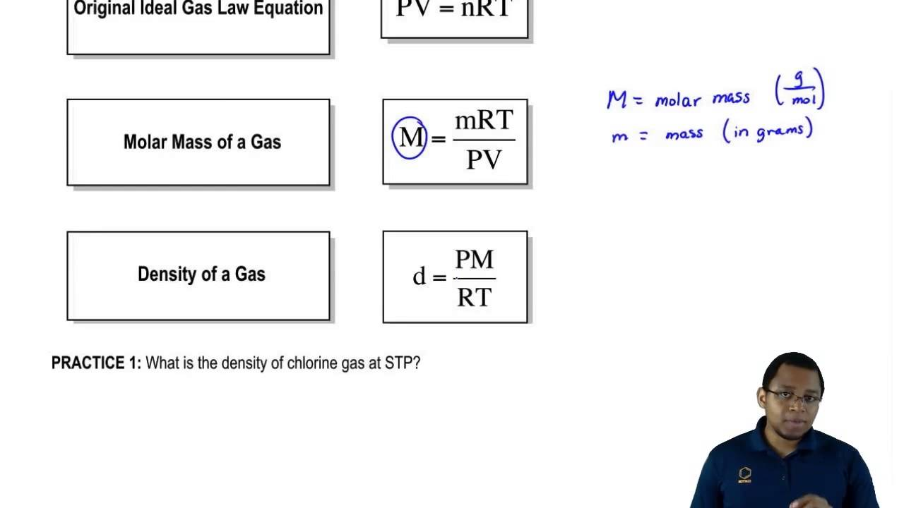 Ideal Gas Law Using Molar Mass