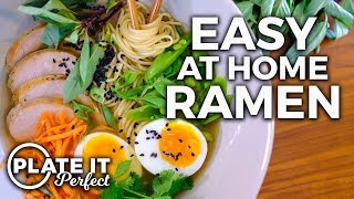 Easy Homemade Ramen Bowl | Plate It Perfect