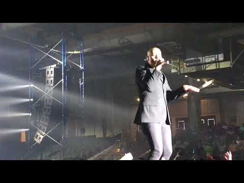 """""""He Reigns"""" and """"Shine"""" -Newsboys UNITED Tour 2018 Hattiesburg, MS June 24 (Peter Furler and Phil J"""