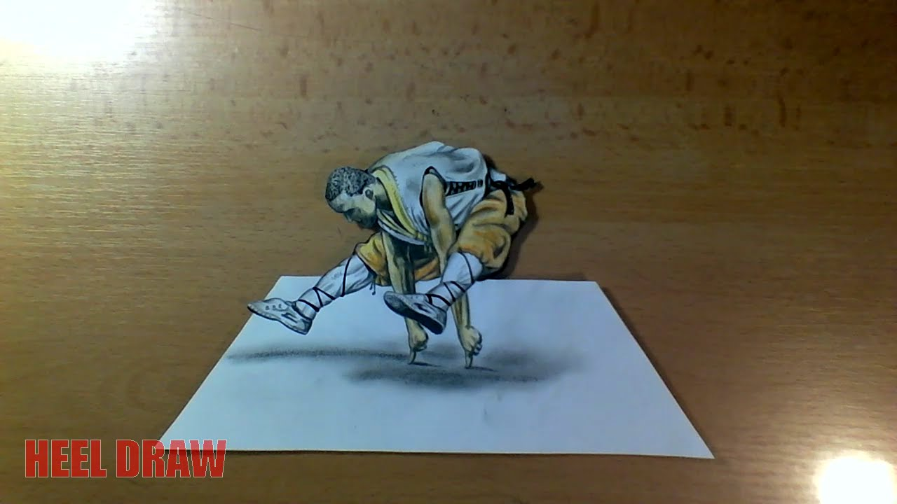 shaolin monk 3d drawing youtube