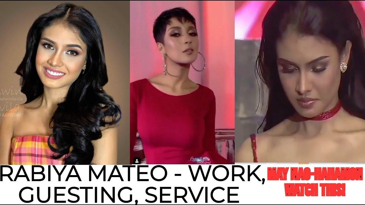 RABIYA MATEO NONSTOP WORK, TRAINING, GUESTING, PUBLIC SERVICE| GRABE! MAY GUSTONG HUMAMON KAY RABIYA