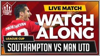 Southampton vs Manchester United LIVE Stream WATCHALONG