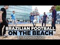 GABRIEL JESUS BEACH FREESTYLE! | Brazilian Beach Football | #nothingwithoutyou