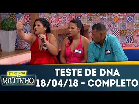 Teste De DNA - Completo | Programa Do Ratinho (18/04/18)