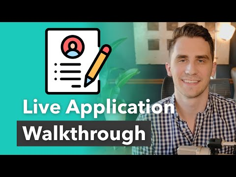 How To Fill Out A Loan Application - Complete Walkthrough!