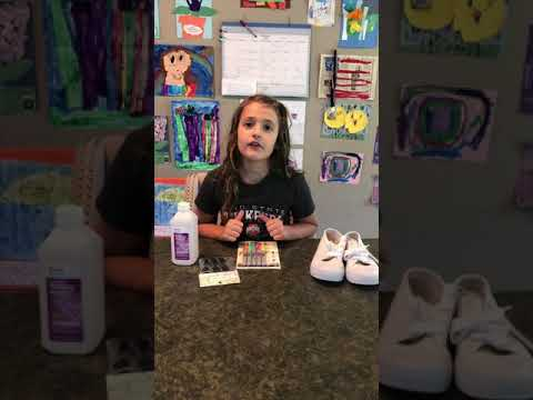 Camryn's Crafts: DIY Tie-Dye Shoes