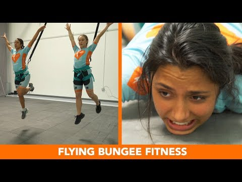 We Tried The Flying Bungee Workout