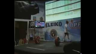 Worlds Strongest Man EVER 2013 NEW WORLD RECORD 767 5 kg 1691 Pounds