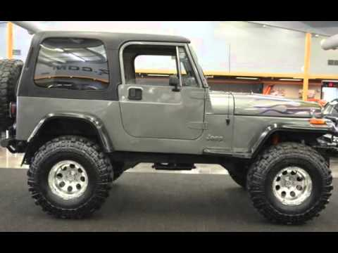 Jeep Wrangler Lifted >> 1990 Jeep Wrangler for sale in milwaukie, OR - YouTube