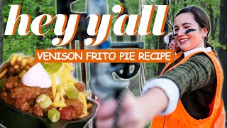 Venison Frito Pie Recipe | Ivy Goes Hunting | Hey Y'all