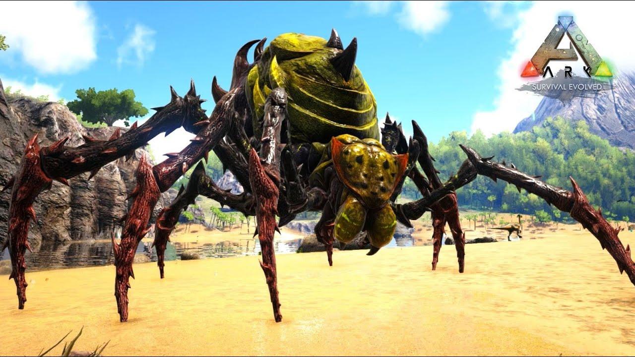 桁違いの戦闘力を持つ最強の女王グモ「ブルードマザー」 ARK Survival Evolved ゆっくり実況 番外編1