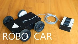 How To Make A Simple Remote Controlled Robo Car (HD)