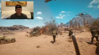 uncle larry reacts to battlefield 1 official gameplay trailer