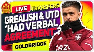 Grealish Man Utd Transfer Dream! Man Utd Transfer News