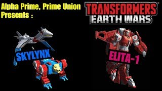 Transformers Earth Wars guide to power leveling 4 star sky lynx & elita-1