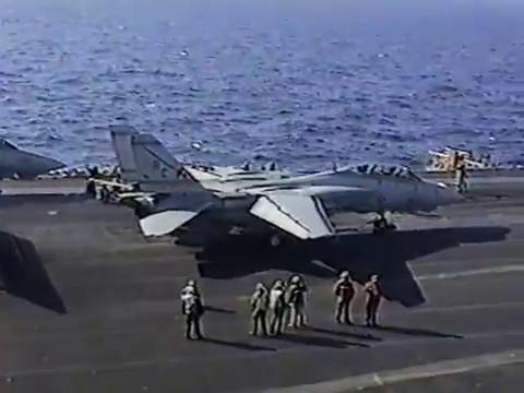 USS Theodore Roosevelet 1996-1997 CVN-71