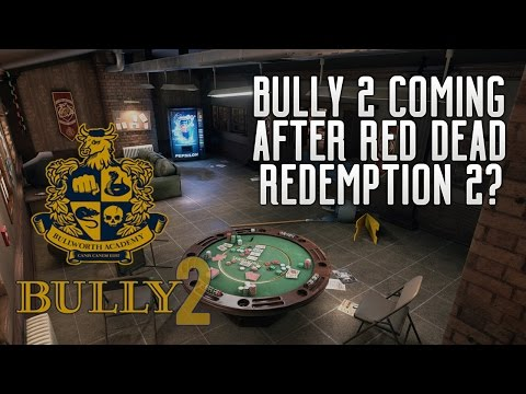 Bully 2 - Next Rockstar Games After RDR2?! Bully 2 LEAKED? Games Before Grand Theft Auto 6!