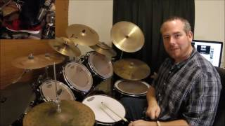 """How to Play AC/DC """"You Shook Me All Night Long"""" on Drums"""