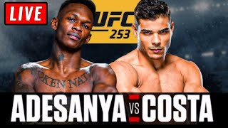 🔴 UFC 253 Live Stream - Adesanya vs Costa & Reyes vs Blachowicz Reaction Watch Along
