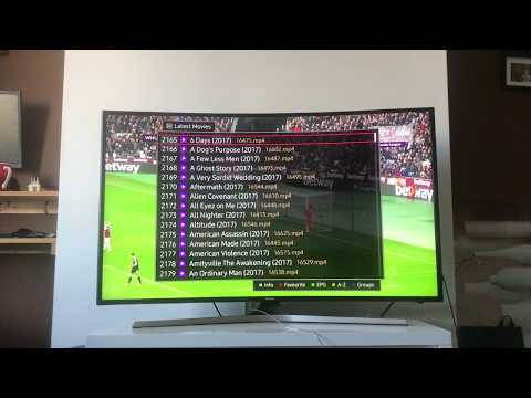 Premium Channels running on Samsung Smart TV / Amazon Fire TV