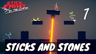 [1] Sticks and Stones (Let's Play Stick Fight: The Game w/ GaLm and friends)