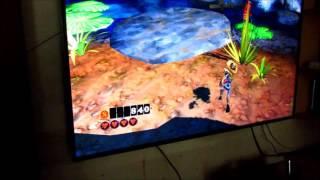 Xbox 360 The Gunstringer Kinect Gameplay