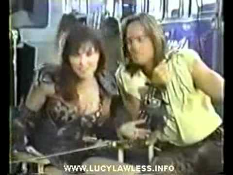 Kevin Sorbo duces Lucy Lawless as Xena Warrior Princess